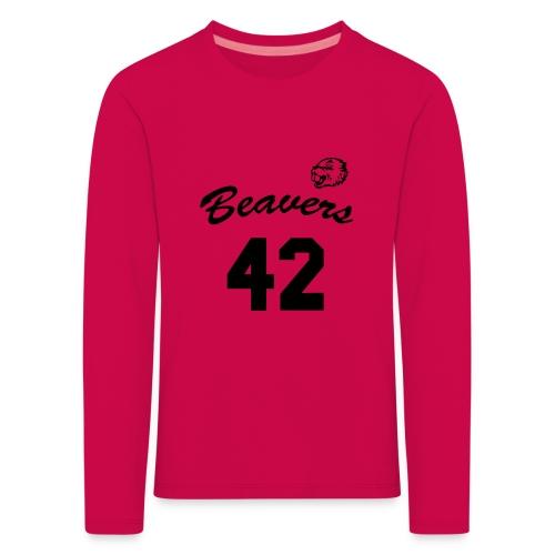 Beavers front - Kinderen Premium shirt met lange mouwen