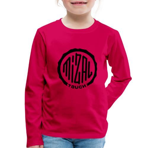 Mizal Touch Certified - Koszulka dziecięca Premium z długim rękawem
