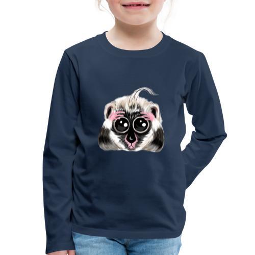 Lemur design / print - Kids' Premium Longsleeve Shirt