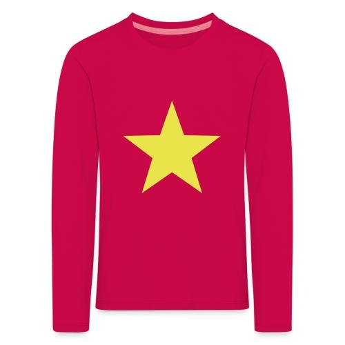 étoile couleurs modifia.. - T-shirt manches longues Premium Enfant