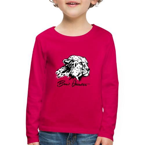 Bow Hunter Gepard 2 färbig - Kinder Premium Langarmshirt