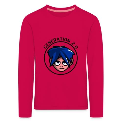Generation 2.0 - Maglietta Premium a manica lunga per bambini