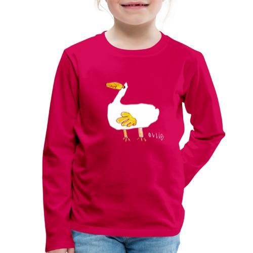 Ollie's Duck - Kids' Premium Longsleeve Shirt