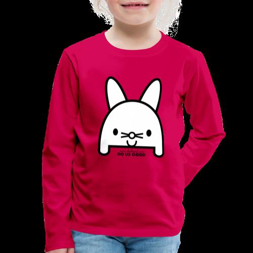 BUNNY - Lasten premium pitkähihainen t-paita