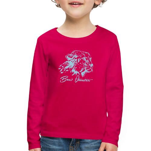 gepard bow hunter - Kinder Premium Langarmshirt