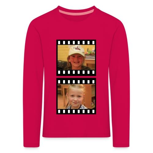 lente tess png - Kinderen Premium shirt met lange mouwen