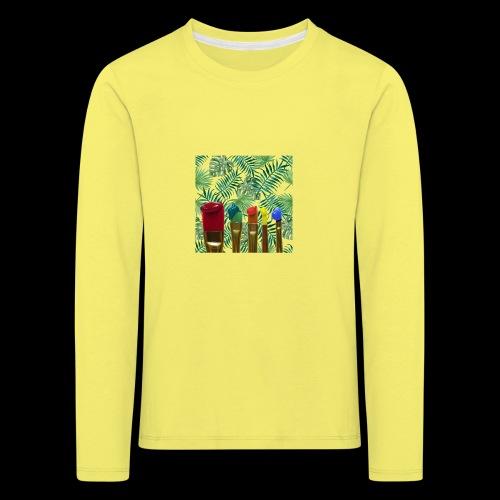 couleurs chauds des tropiques - T-shirt manches longues Premium Enfant