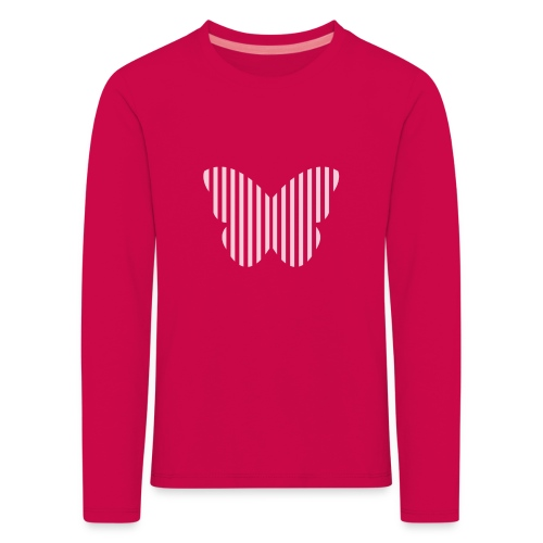 butterfly_opacity.png - Kids' Premium Longsleeve Shirt
