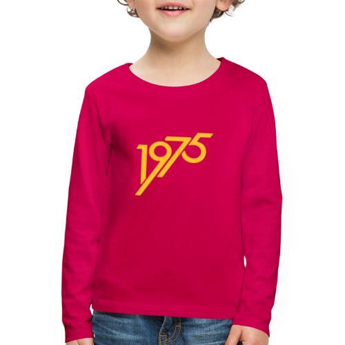 1975 future - Kinder Premium Langarmshirt