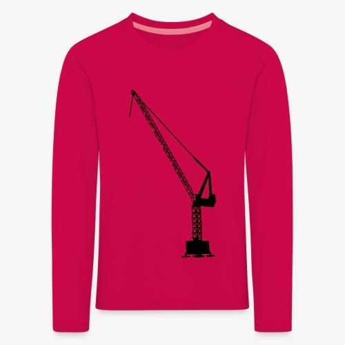 kraan - Kinderen Premium shirt met lange mouwen