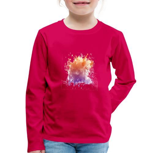 Chaton transparent - T-shirt manches longues Premium Enfant