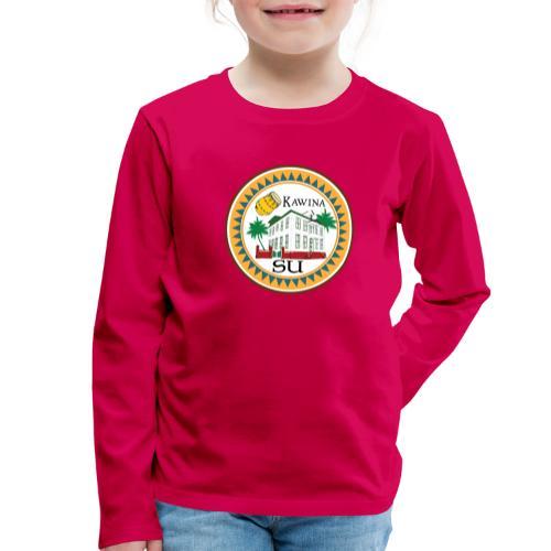 Kawina Republiek Suriname - Kinderen Premium shirt met lange mouwen