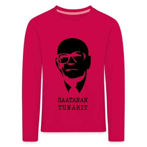 Kekkonen saatanan tunarit - Lasten premium pitkähihainen t-paita