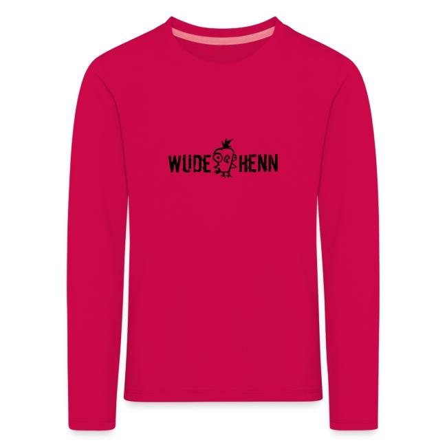 Vorschau: Wüde Henn - Kinder Premium Langarmshirt