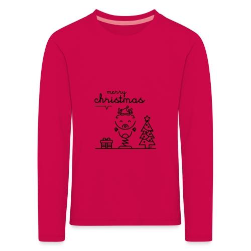 Noël reindeer 2 - T-shirt manches longues Premium Enfant