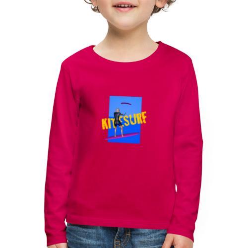 KITESURF FEMME - T-shirt manches longues Premium Enfant