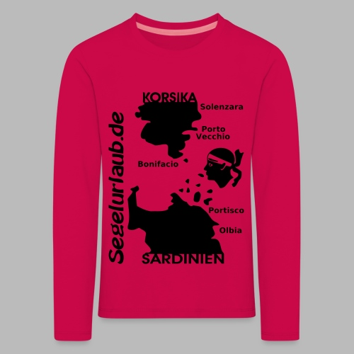 Korsika Sardinien Mori Shirt - Kinder Premium Langarmshirt