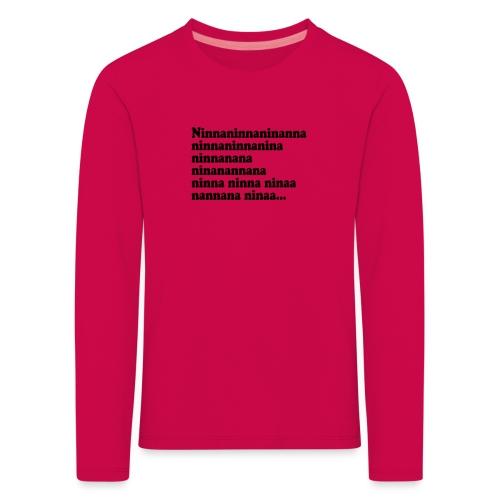 BOKTIPSET - Långärmad premium-T-shirt barn