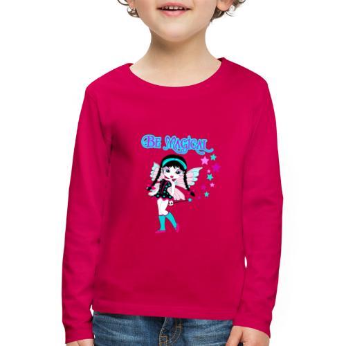Stoere fee - Kinderen Premium shirt met lange mouwen