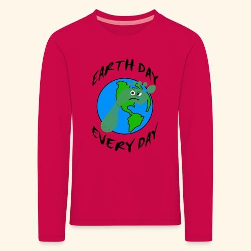 Earth Day Every Day - Kinder Premium Langarmshirt