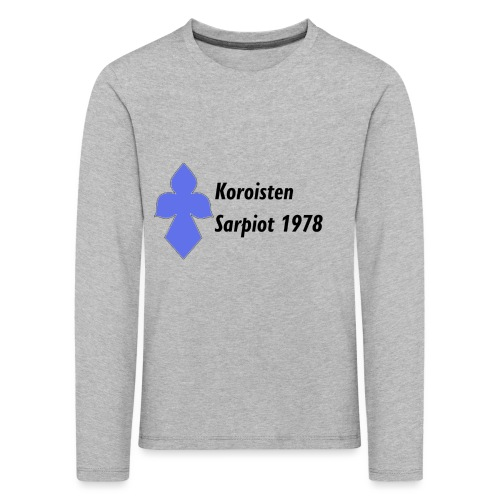 Koroisten Sarpiot - Lasten premium pitkähihainen t-paita