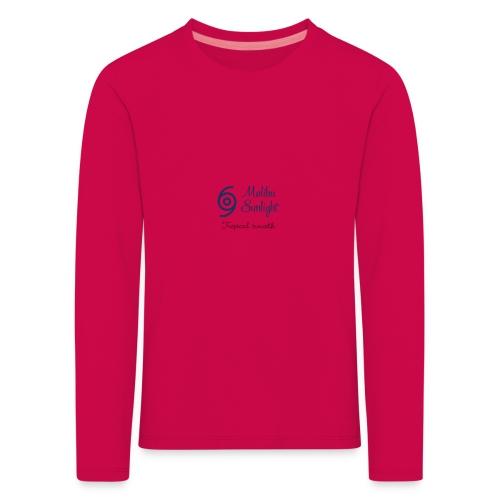 sunlight - Børne premium T-shirt med lange ærmer