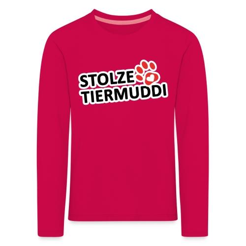 stolzetiermuddi png - Kinder Premium Langarmshirt