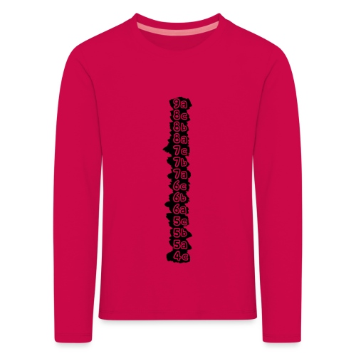 cotation - T-shirt manches longues Premium Enfant