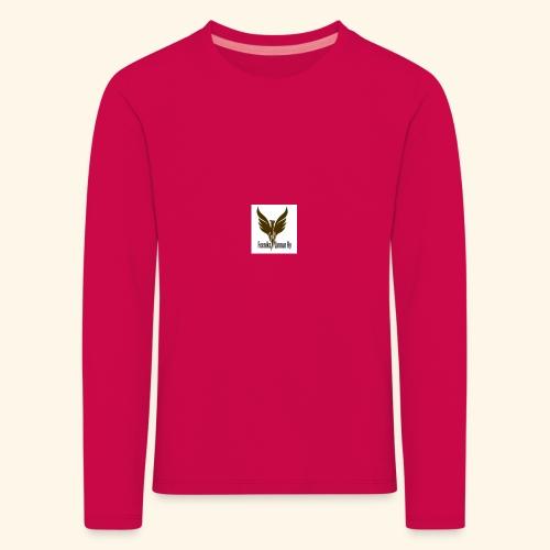 feeniks logo - Lasten premium pitkähihainen t-paita