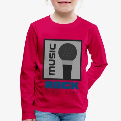 MUSIC 004A - Camiseta de manga larga premium niño