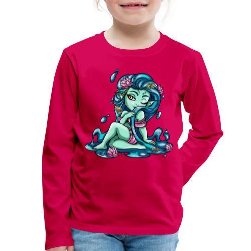 Zodiac Sign : Fish - T-shirt manches longues Premium Enfant