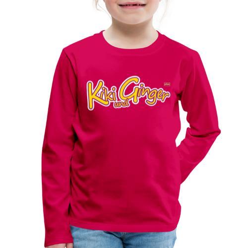 patame Kiki und Ginger Logo - Kinder Premium Langarmshirt
