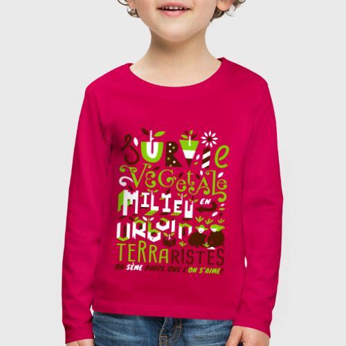 Green Guerilla - T-shirt manches longues Premium Enfant