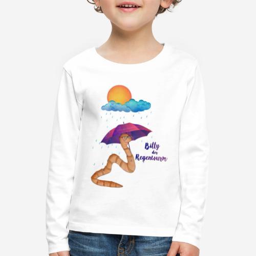Billy der Regenwurm - Kinder Premium Langarmshirt