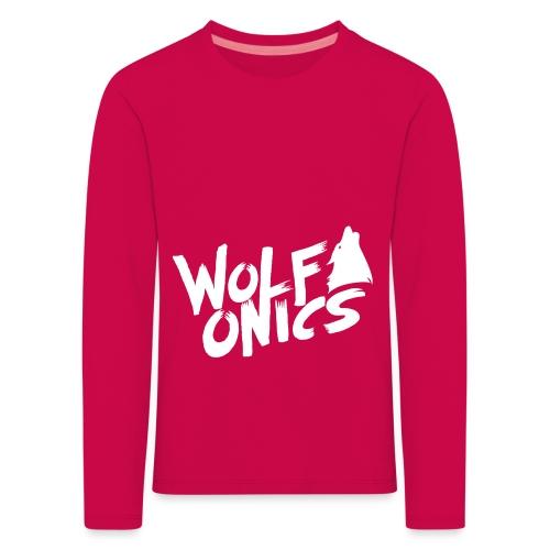 Wolfonics - Kinder Premium Langarmshirt