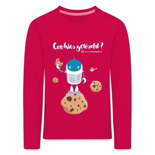 Cookies gelöscht - Kinder Premium Langarmshirt