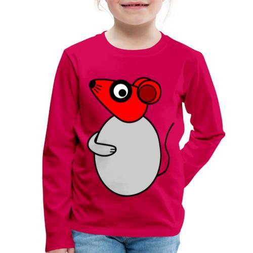 Rat - not Cool - c - Kinder Premium Langarmshirt