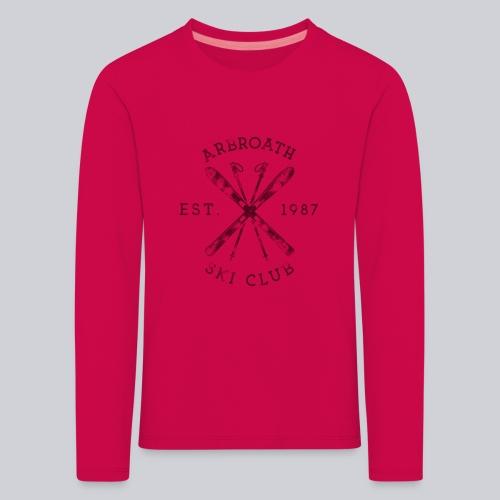 Arbroath Ski Club - Kids' Premium Longsleeve Shirt
