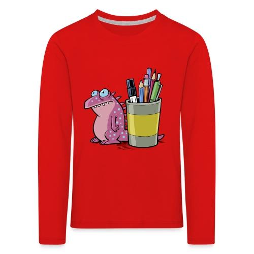 Teenager Premium Langarmshirt Drache - Kinder Premium Langarmshirt