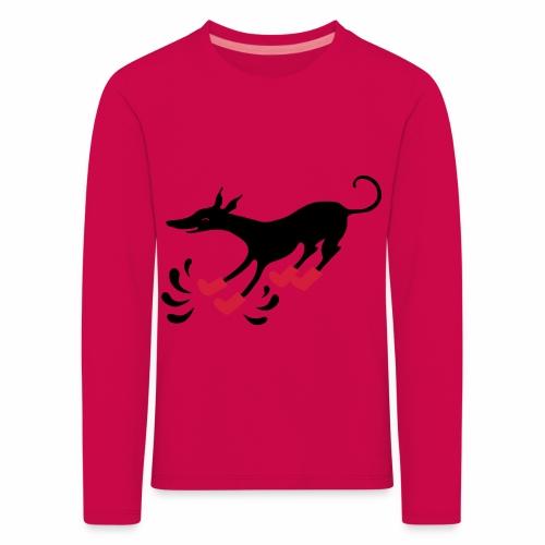Latakko Loiskis - Lasten premium pitkähihainen t-paita