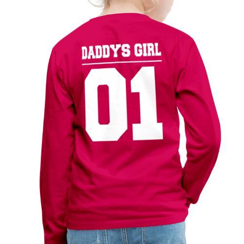 Daddys Girl 01 - Kinder Premium Langarmshirt