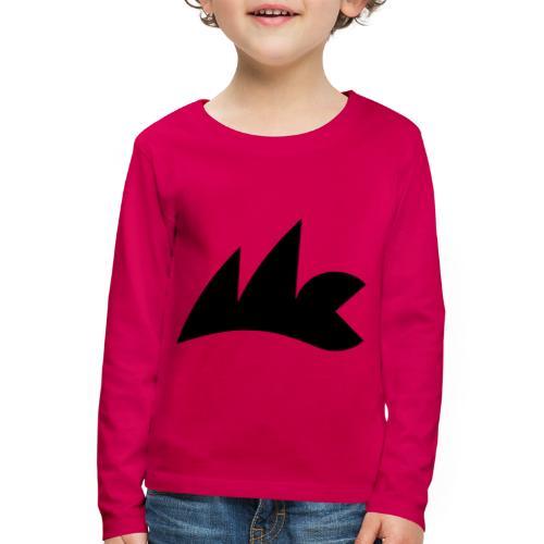 Logo_Micro_Class_vektor - Kinder Premium Langarmshirt