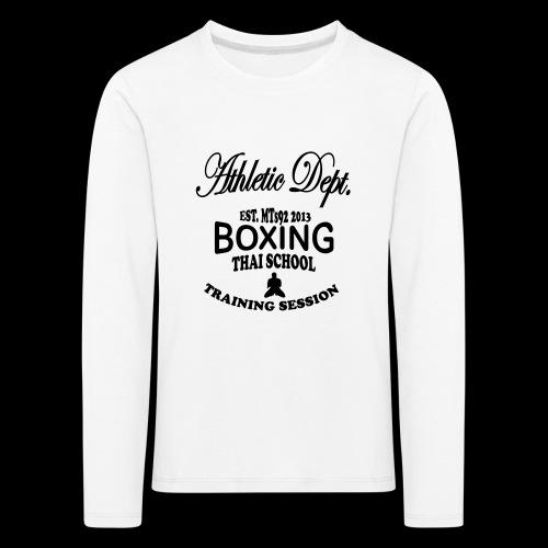 (high_school_couleur_uni) - T-shirt manches longues Premium Enfant