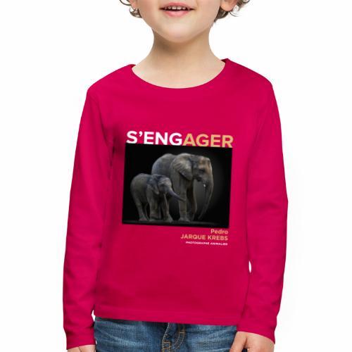 1 Achat = 1 Don à l'association Rainfer - T-shirt manches longues Premium Enfant