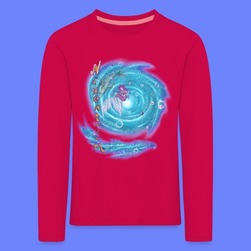 nixentraum - Kinder Premium Langarmshirt