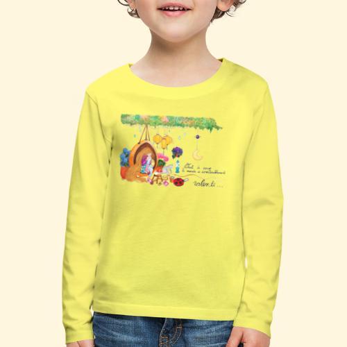 Tout à coup, le temps a considérablement ralenti - T-shirt manches longues Premium Enfant