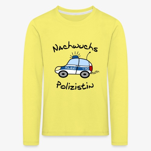 nachwuchs polizistin - Kinder Premium Langarmshirt