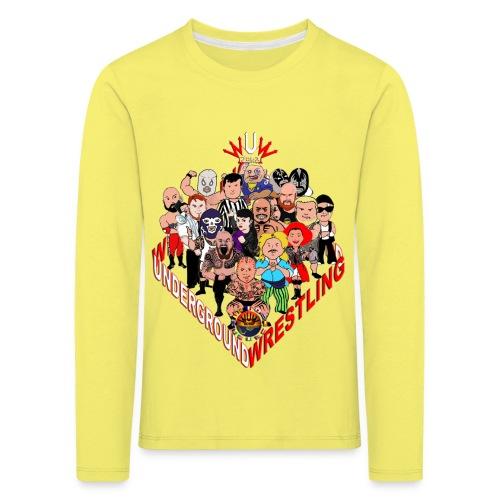 comics-wrestler - Kinder Premium Langarmshirt