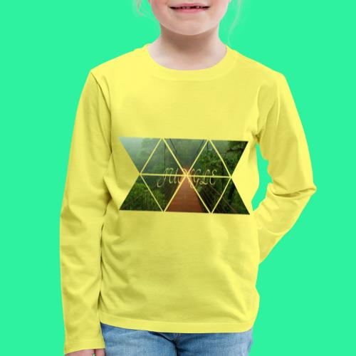 JUNGLE - Kinder Premium Langarmshirt