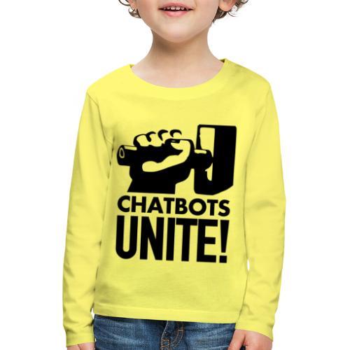 ChatbotsUnite - T-shirt manches longues Premium Enfant